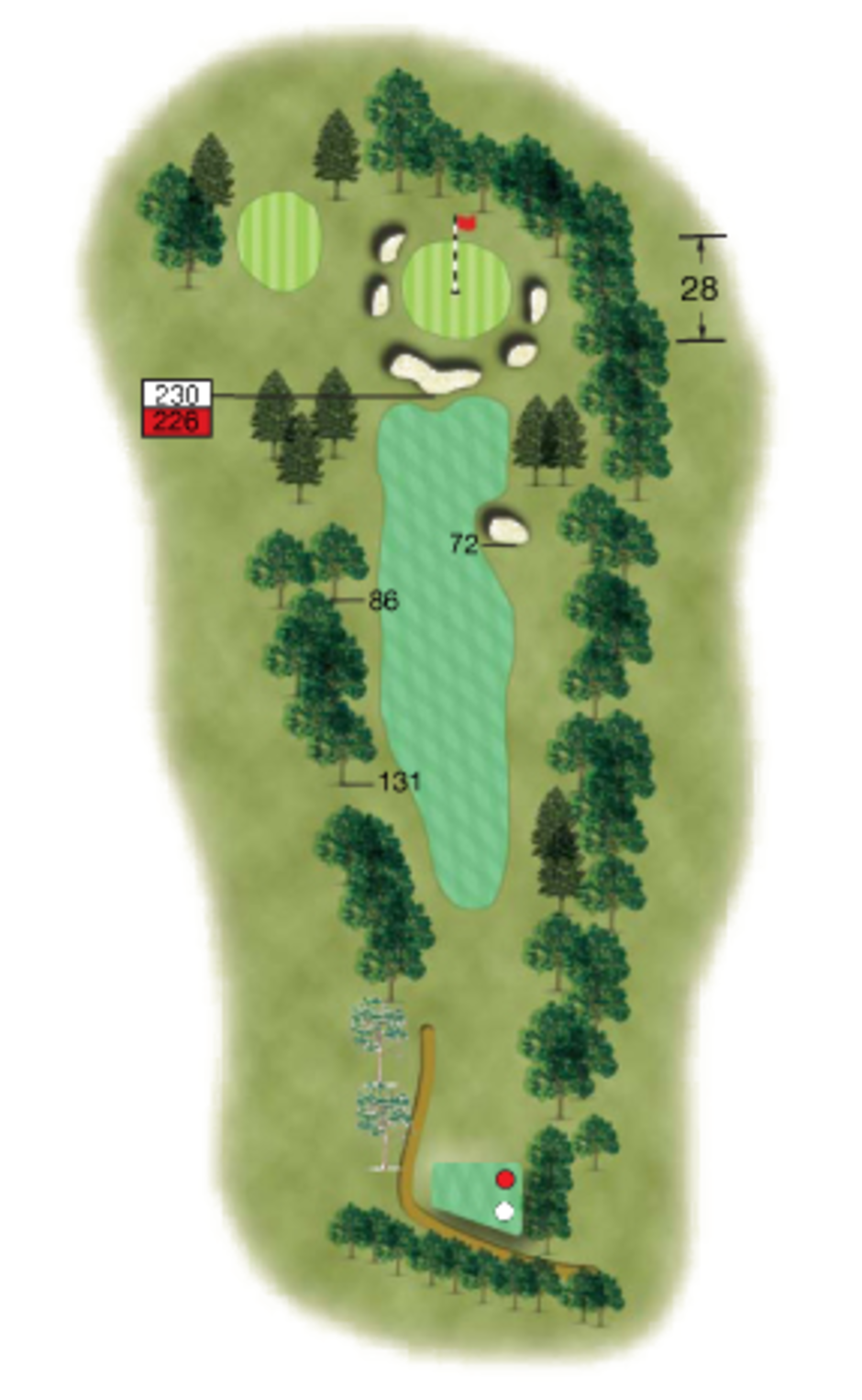18 Woolton Golf Club Merseyside Hole Diagram Tip From The Pro