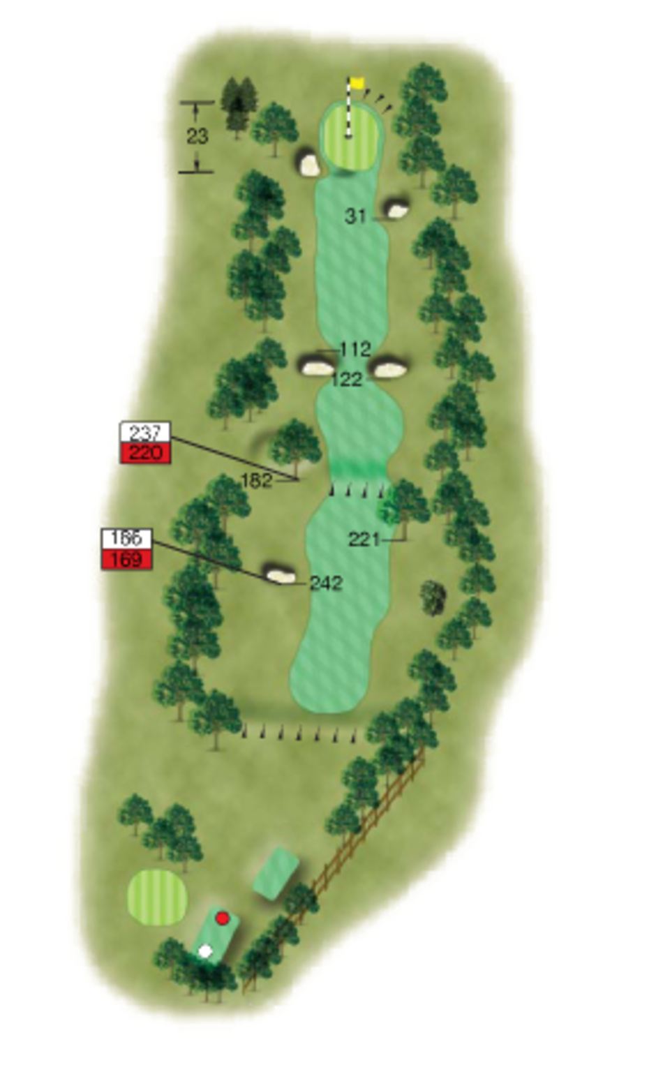 6 Woolton Golf Club Merseyside Hole Diagram Tip From The Pro